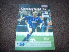 Chesterfield v Oldham Athletic, 1998/99